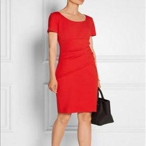 DVF Bevina dress Tomato Red US Sz14